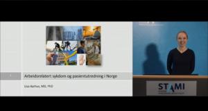 Fremhevet bilde fra «Arbeidsrelatert sykdom og pasientutredning i Norge»