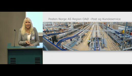 Fremhevet bilde fra «Arbeidsmiljøsamling Oslo – 6. Arbeidsmiljøarbeid i praksis: Posten Norge»