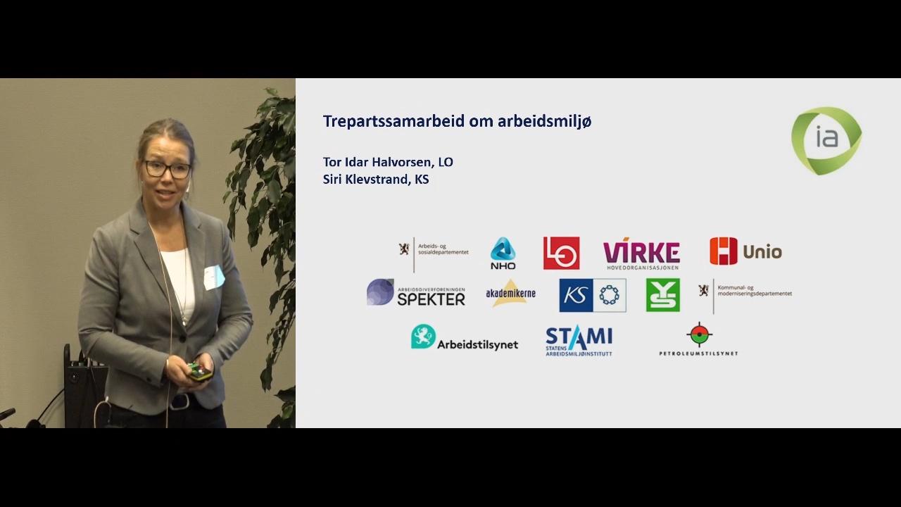 Fremhevet bilde fra «Arbeidsmiljøsamling Oslo: 8. Trepartssamarbeid om arbeidsmiljø»