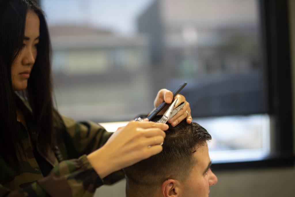 Bilde av frisør