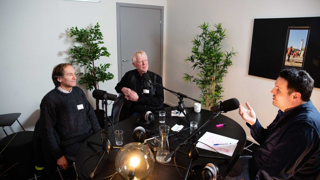 Bilde av Stein Knardahl og Finn Kåre Aasheim: Foto Eivind Kaasin/Idebanken.