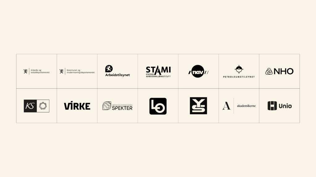 Bilde av logoene til arrangører.