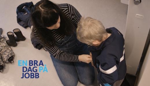 Fremhevet bilde fra «Opptak fra webinar: «En bra dag på jobb» for barnehage»