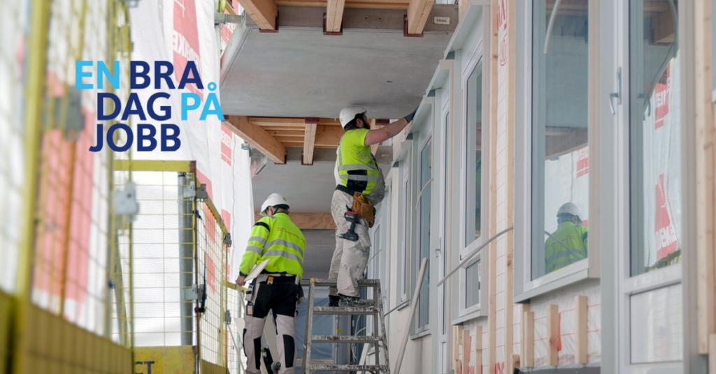 Bilde av byggearbeidere.